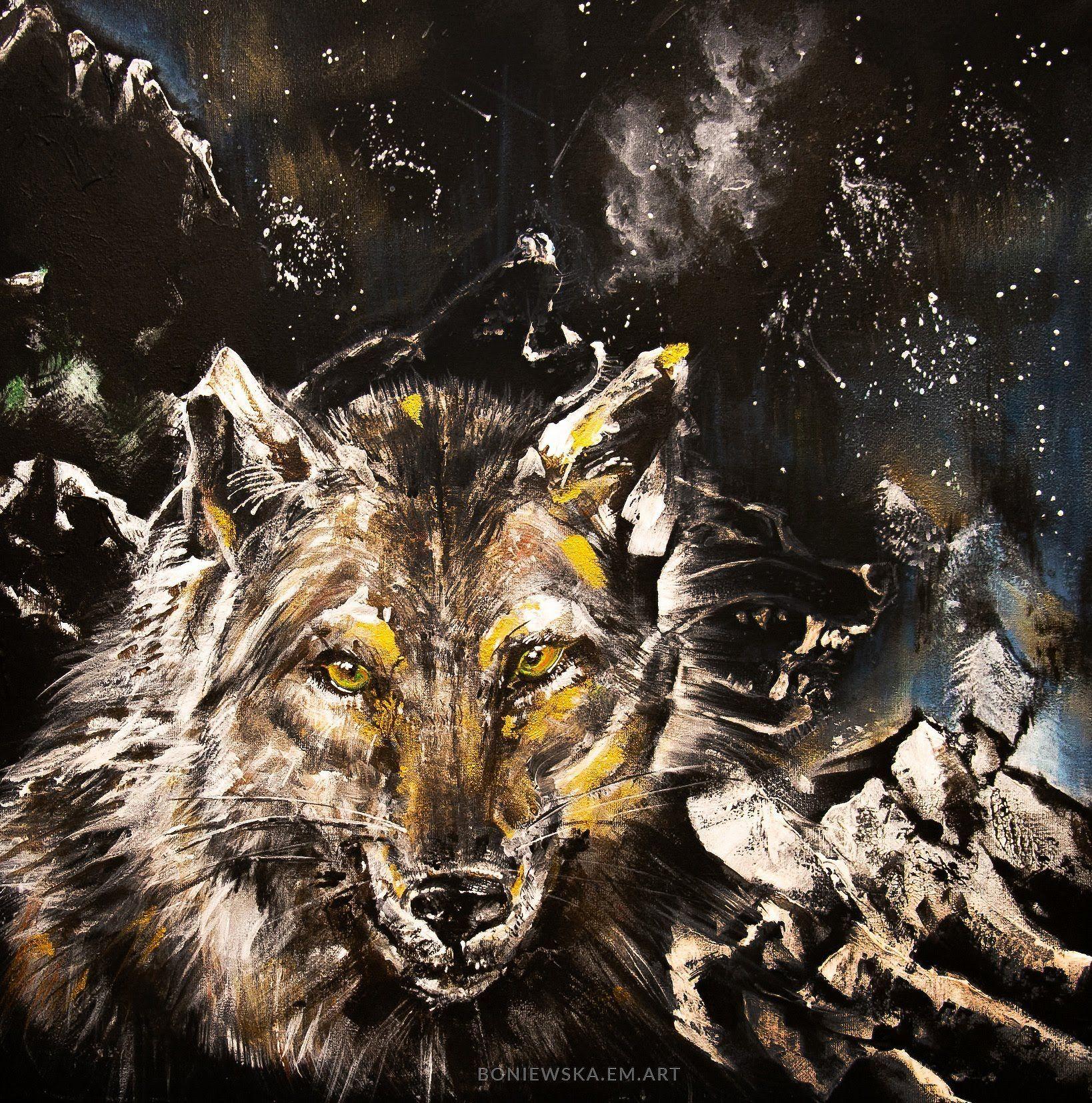 Malowana wilczyca